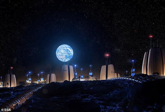 Parte de la nueva misión será construir una colonia sostenible en la luna, donde los ingenieros puedan aprender a usar los recursos lunares.